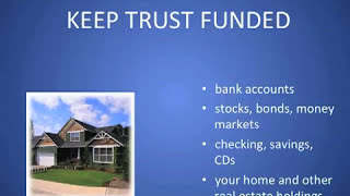 Failure to keep trust funded