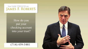 Should You Include Your Checking Account Into Your Trust