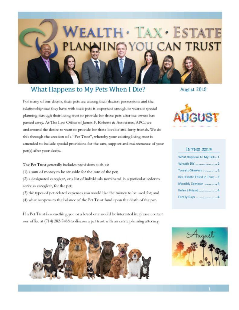 thumbnail of Newsletter August 2018_1